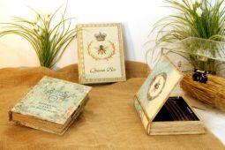 una scatola libro
