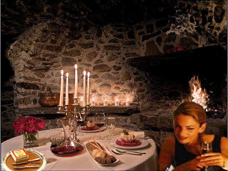 per un invito a cena