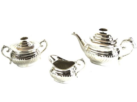 SERVIZIO TEA 3 PZ TRADITIONA ENGLISH STYLE, art. 0216600