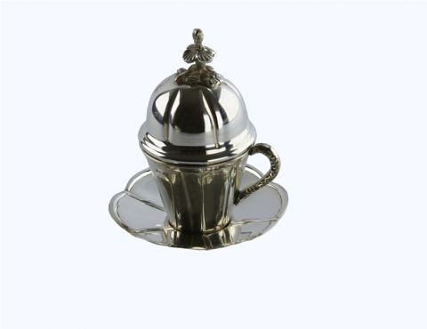 TAZZINA CAFFE'  CON COPERCHIO, art. 0392400