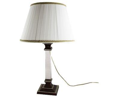 """LAMPADA  """"FABERGE' STYLE"""" BROWN CON CRISTALLO, art. 077200M"""