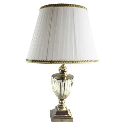 LAMPADA MEDIA CRISTALLO E SHEFFIELD, art. 0543100