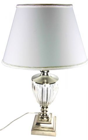 LAMPADA  GRANDE CRISTALLO E SHEFFIELD, art. 0543200