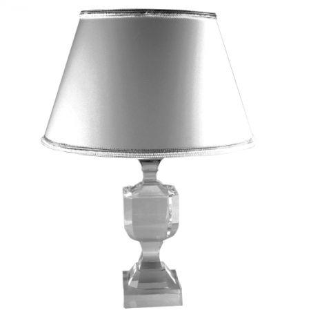LAMPADA MEDIA IN CRISTALLO BASE QUADRA, art. 0545300