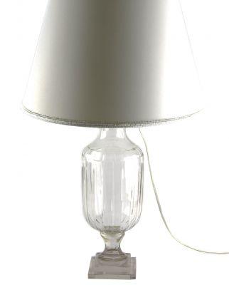 LAMPADA IN CRISTALLO MOLATURA  VERTICALE, art. 0544800