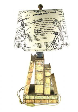 LAMPADA CON LIBRI, art. 0820062
