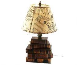 LAMPADA CON LIBRI, art. 0820058