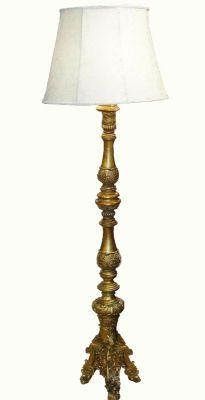LAMPADA DA TERRA IN ORO VECCHIO, art. 0870047