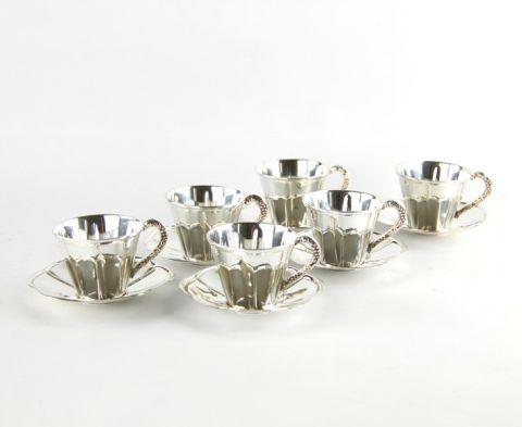TAZZINA CAFFE' SET 6 PEZZI, art. 0392306
