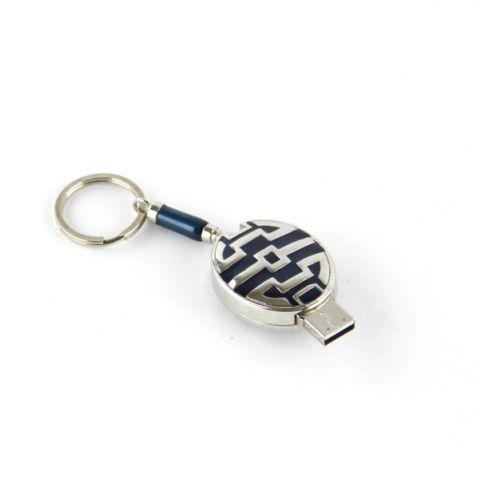 PORTACHIAVI BLU CON USB 2 GB, art. 076710B