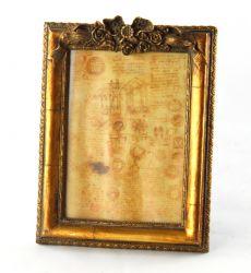 CORNICE RETTANGOL. 13X18C/ FREGIO ORO VECCHIO, art. 0870017