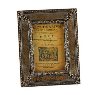 """CORNICE A SPECCHIO """"FLORENCE"""" IN ORO VECCHIO, art. 0870009"""