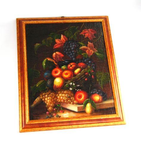 FIAMMINGO DIP. AD OLIO CON CORNICE 60X50 CM, art. 0802036