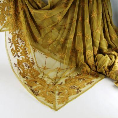 TOVAGLIA RICAMATA 190X280 CM ORO SCURO, art. 0860303
