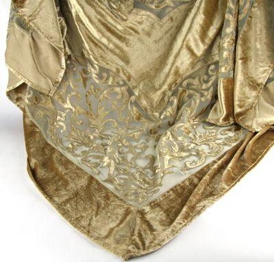 TOVAGLIA VELLUTO ORO CHAMPAGNE 170X170 CM, art. 0860306G