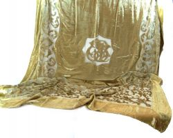 TOVAGLIA  VELLUTO ORO CHAMPAGNE 170X270 CM, art. 0860307G