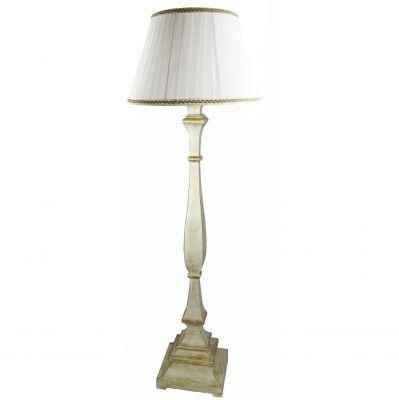 LAMPADA DA TERRA IN AVORIO E ORO VECCHIO, art. 0870145