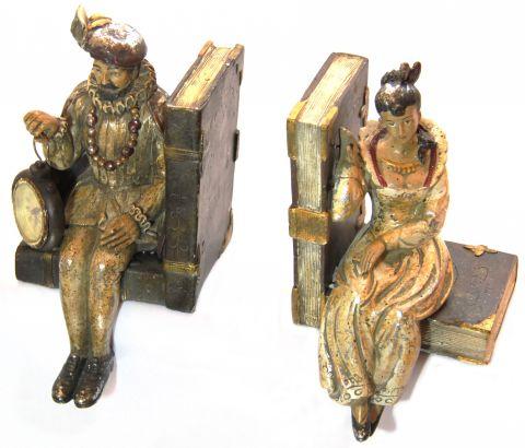 REGGILIBRO COPPIA REALI CON OROLOGIO, art. 0870218