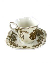 TAZZINA CAFFE' COLLEZIONE  C/ PIATTINO, art. 0708200