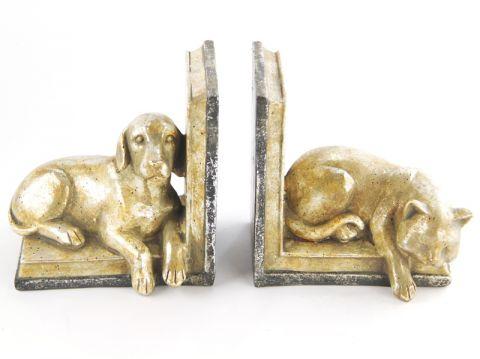 """REGGILIBRO COPPIA   """"cane e gatto"""", art. 0870175"""