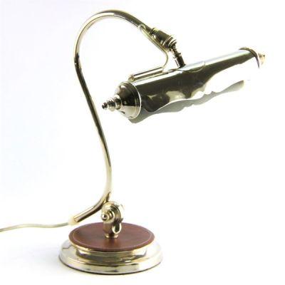 LAMPADA RIFINITURA PELLE MARRONE, art. 0544000