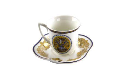 TAZZINA CAFFE   C/ PIATTINO IN SCATOLA REGALO, art. 0708400