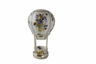 "MONGOLFIERA "" FABERGE' DREAM "" BLUE FLOWER, art. 0709006"
