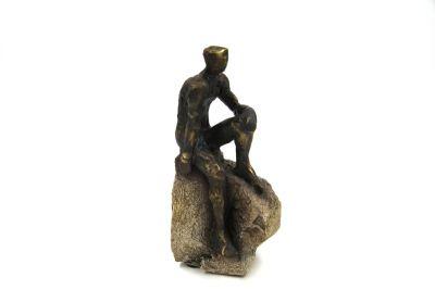 """IL PENSATORE"""" SCULTURA  ART GALLERY COLLECTION, art. 0870195"""